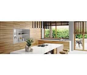 Contemporary Modern Wooden Door Kitchen