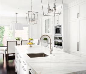 Traditional kitchen design for entertaining